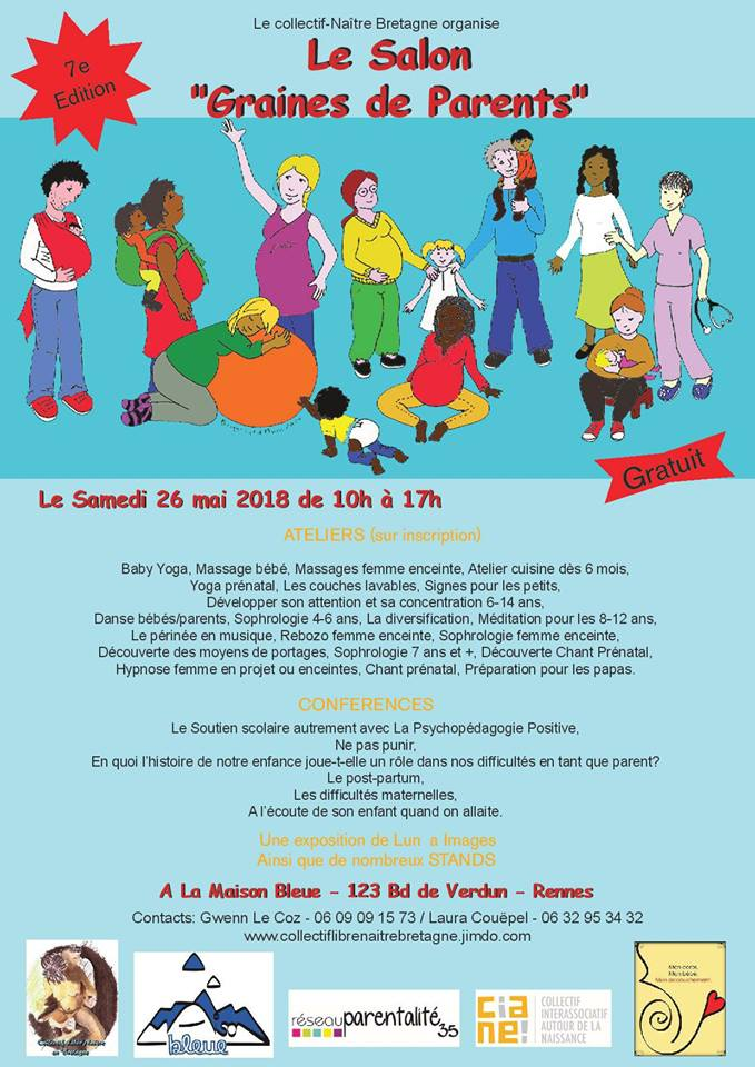 salon graines de parents 2018